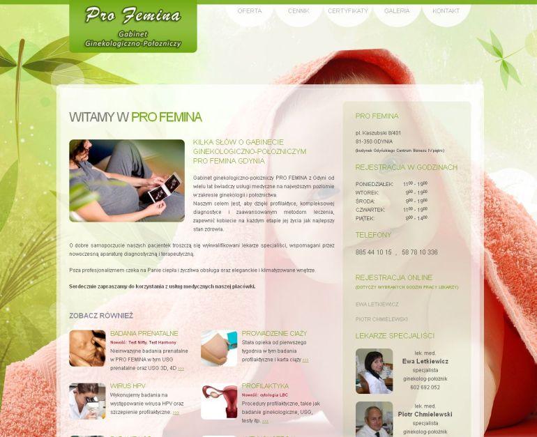 Profemina - gabinet ginekologiczno-położniczy